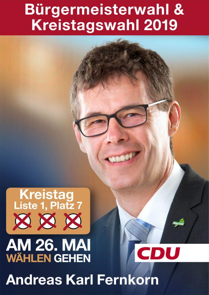 Andreas Karl Fernkorn Bürgermeisterwahl Landgemeinde Dingelstädt